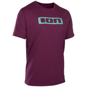 ION Logo T-shirt Heren, pink isover